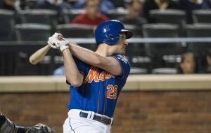 Daniel Murphy, new Dad, plays second base for the New York Mets.